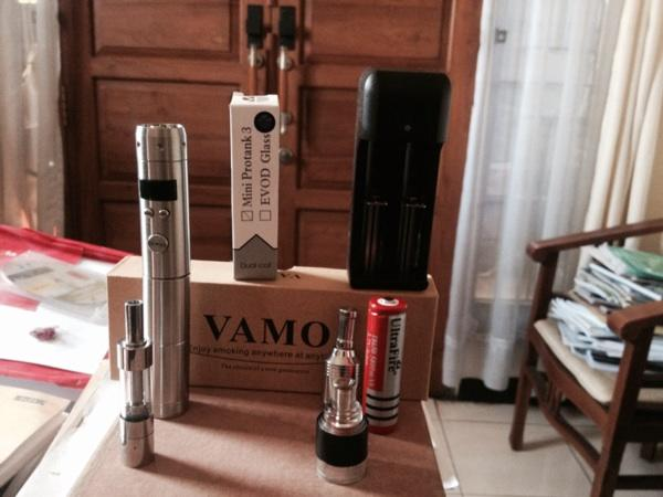 Vamo v5 bandung like new banyak bonus