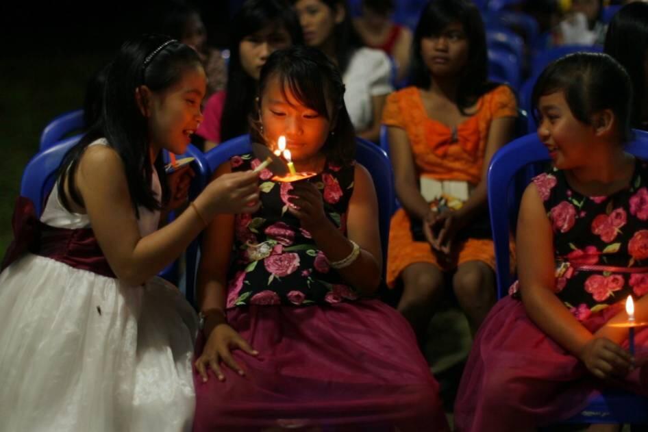 [FOTO] Sukacita Natal di Malinau, Perbatasan Indonesia - Malaysia