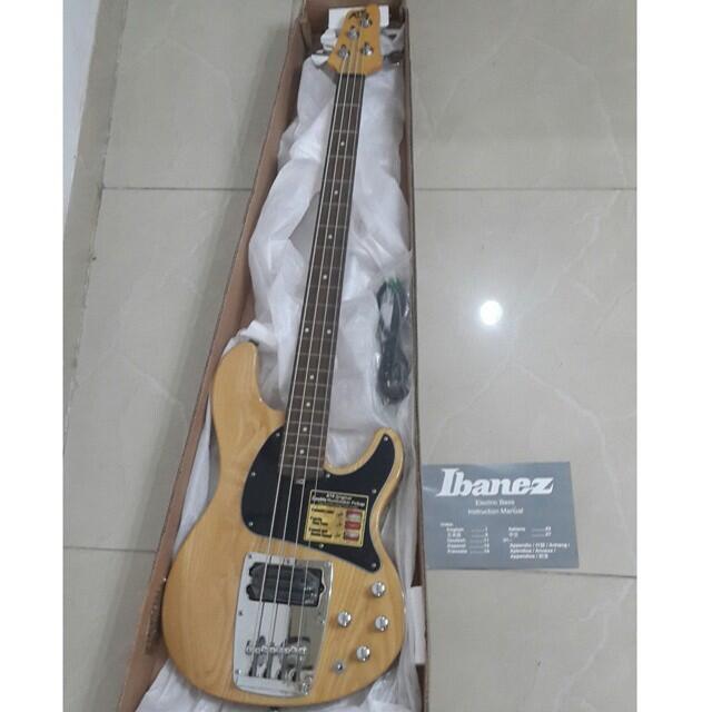 Jual gitar bass dan bass ibanez original harga END YEAR SALE