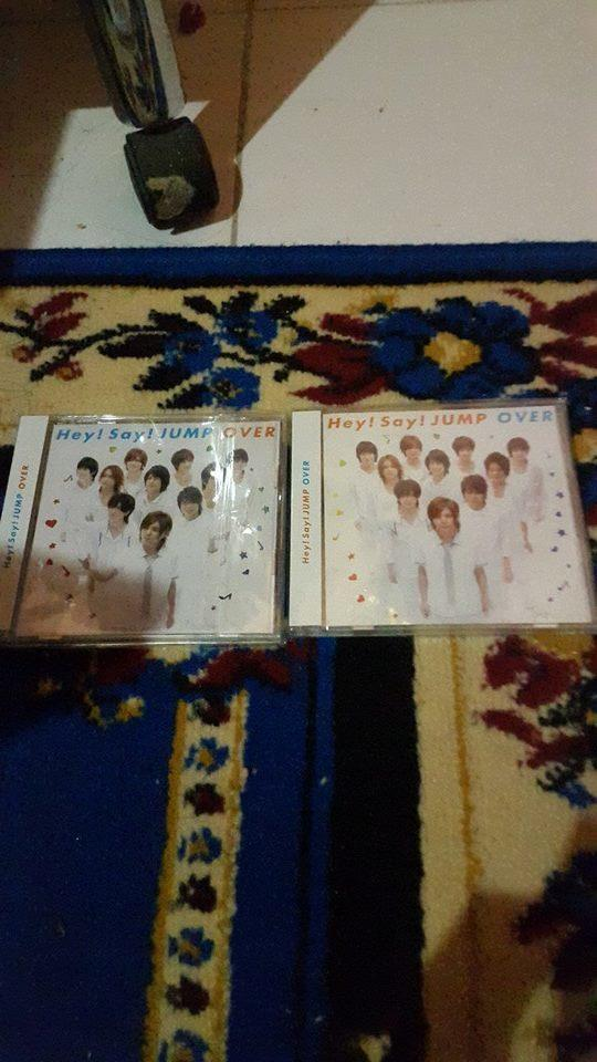 HEY SAY JUMP FANSTUFF NEW AND SECOND