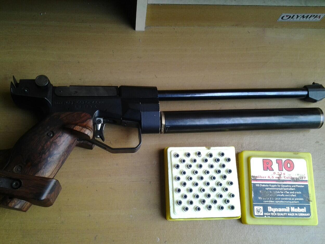 Terjual WTS Pistol Match PASOPATI / Pistol untuk lomba Tembak Target/Std  ISSF