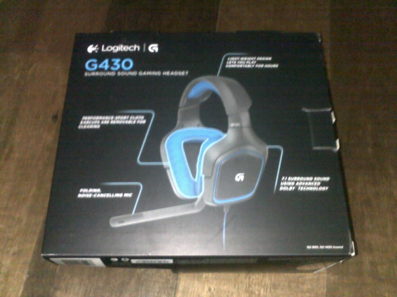 jual headset gaming Logitech G430