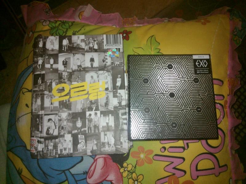 WTS EXO XOXO REPACKAGED ( GROWL ) & OVERDOSE album MURAH! Include Photocard
