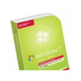 Microsoft Windows 7 Home Basic SP1 64-bit English SEA 1pk DSP OEI 611 DVD