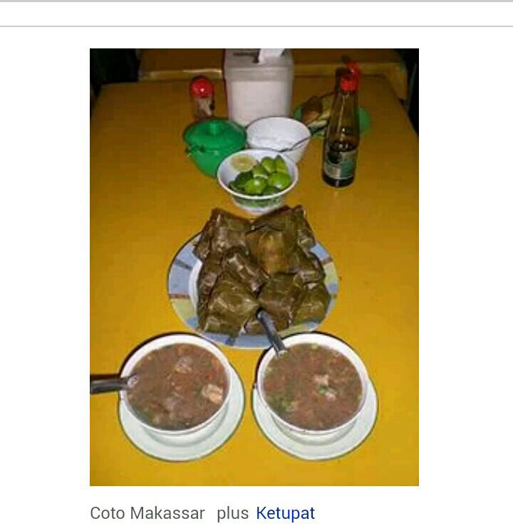Ada yang suka makan coto makassar.? (plus buat nya gan )