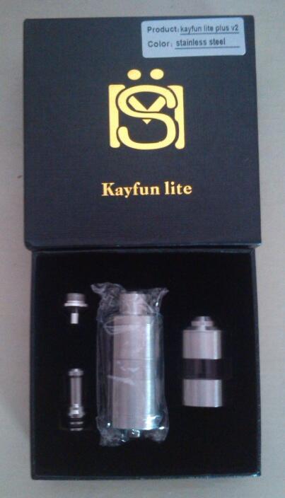 New!! Kayfun Lite Plus V2 SS by Infinite - Pontianak
