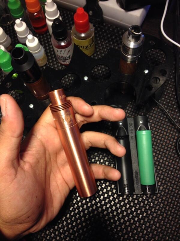 Vaporizer murah bandung! SMPL copper, holy grail copper fullset