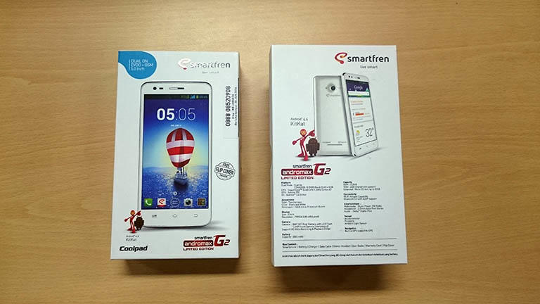 [MURAH AJA] Smartfren Andromax G2 Limited Edition