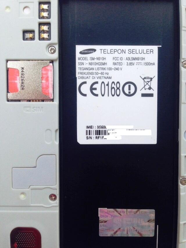 Samsung Note 4 SM-N910 White