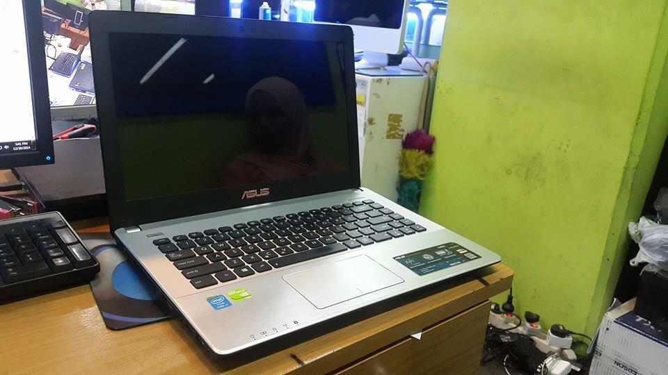 Asus X450J core i7 4700HQ hdd 1TB vga Nvidia GT745 2GB  CEPAT MURAH SAJA