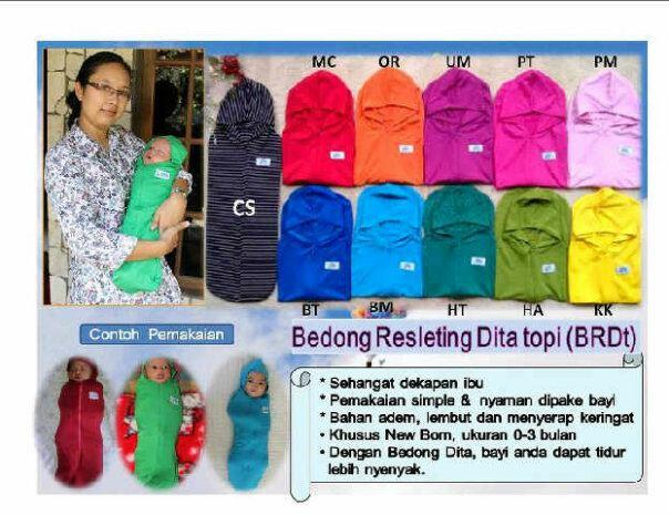 Dita Baby Collection Bedong Instan Topi 2in1 Merah Muda Daftar Source · Bedong Instan Topi Dita