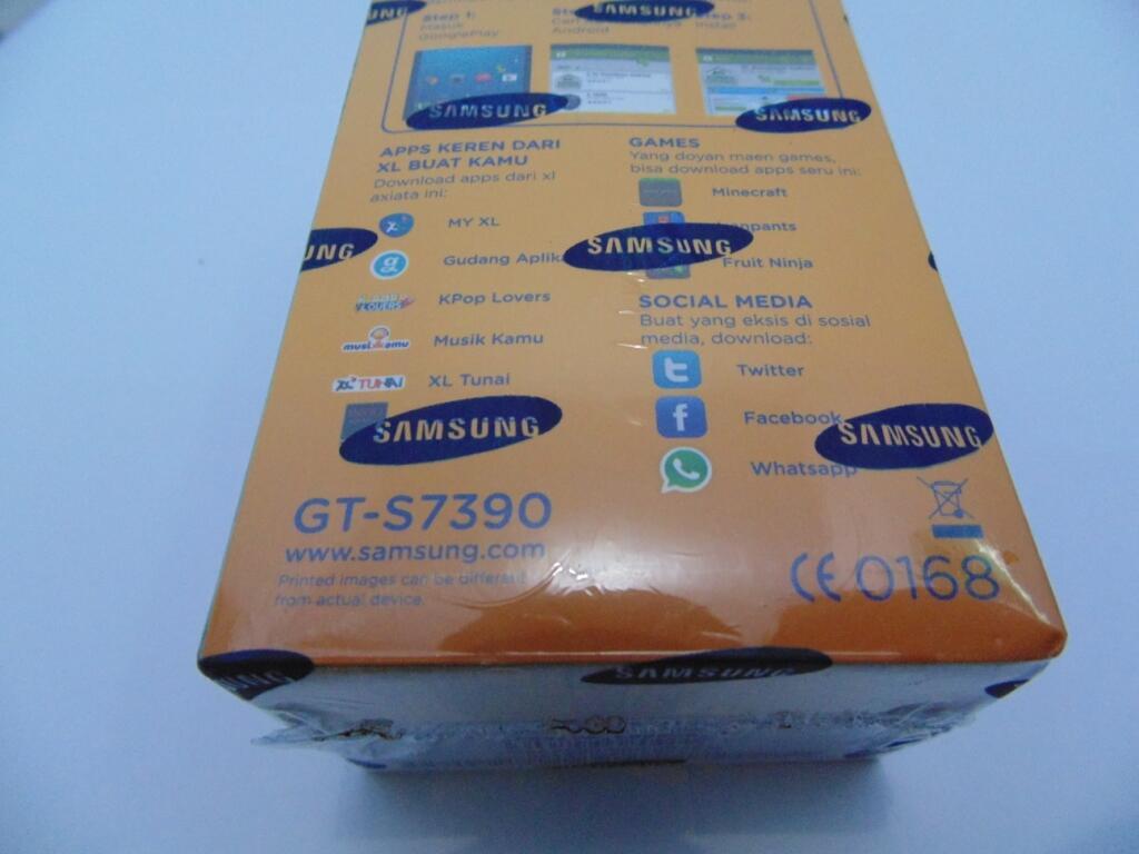 SAMSUNG GALAXY TREND DUAL SIM GT-S7390 + BUNDLING PERDANA XL [COD SEMARANG]