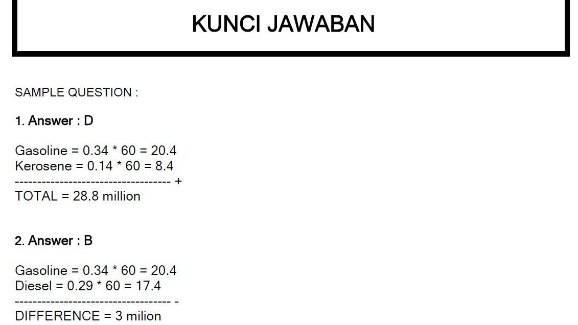 JUAL SOAL PSIKOTES BLIT + KUNCI JAWABAN