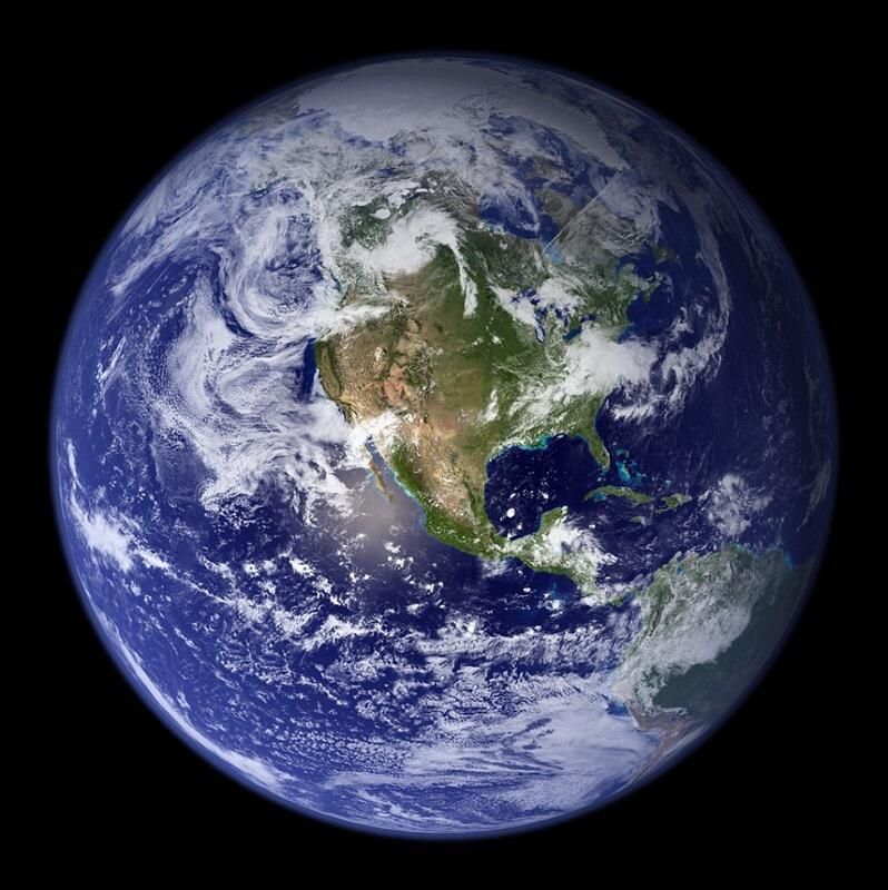 [TANPA EDITAN] Beginilah Rupa Bumi Sebenarnya Jika Dilihat Dengan Mata Manusia