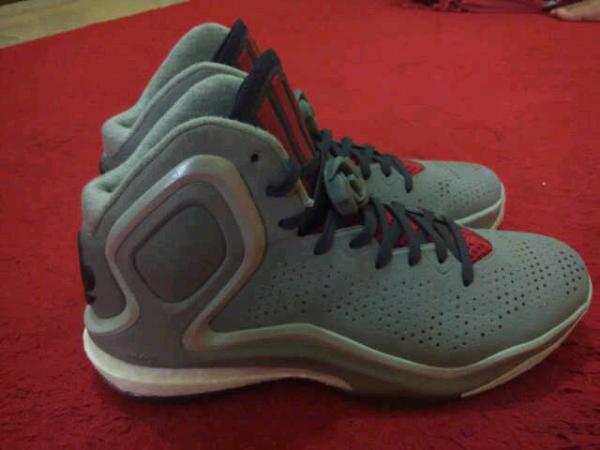 FS sepatu basket original adidas drose 5 size 42 2/3..not kobe,jordan,kd,lebron