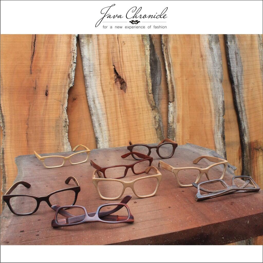 Terjual Kacamata Kayu Wooden Eyeglasses Jam Tangan Handmade