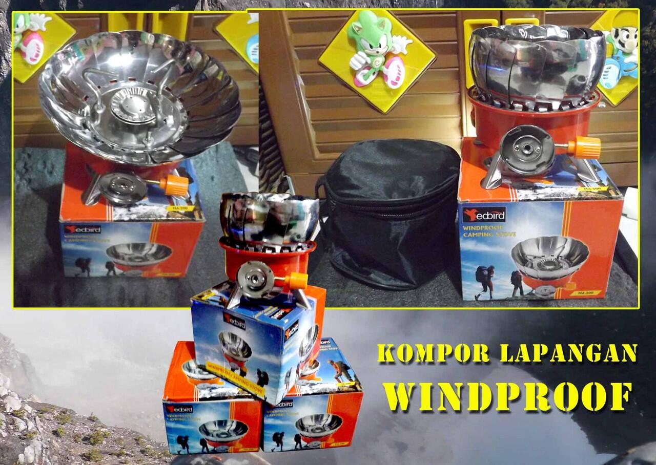 Terjual Kompor Kemping Lapangan Windproof Kaskus Kembang