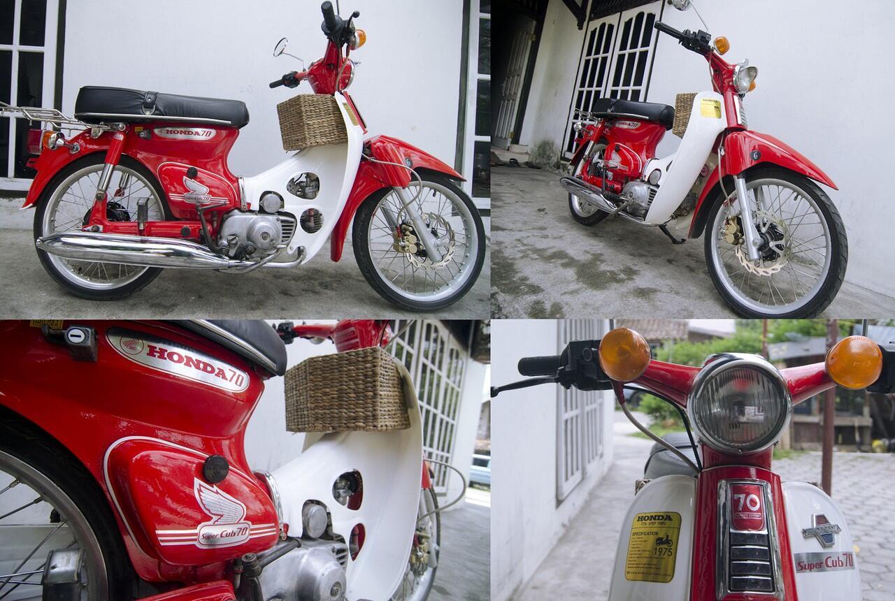 Serba Serbi Honda Cub Series C50 C70 C90 C700 Dan C800 Page