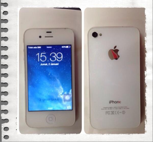 Wts iPhone 4 32GB FU white