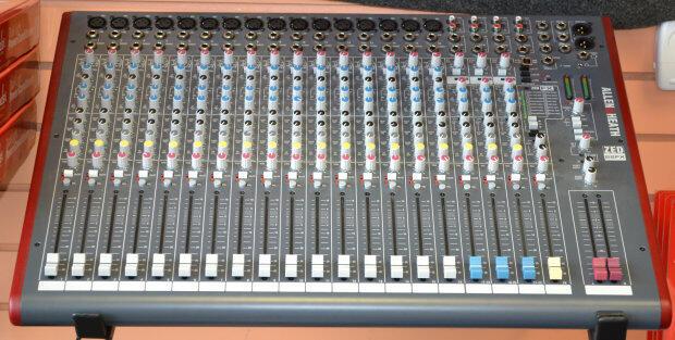 [IMAGINATION MUSIC STORE] Mixer Allen & Heath ZED - 22FX (16 Channel Mono + 3 Stereo)