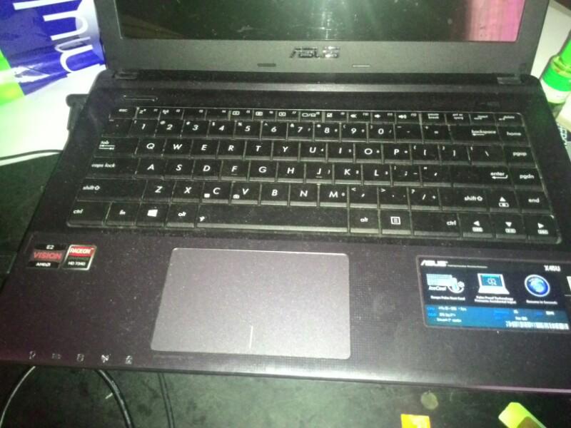 notebook asus x45u mulus!