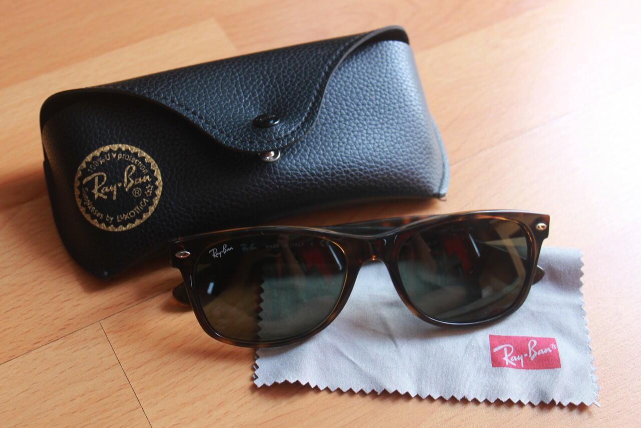 Terjual Kacamata Rayban Wayfarer Classic 100% Original  5fa715f821