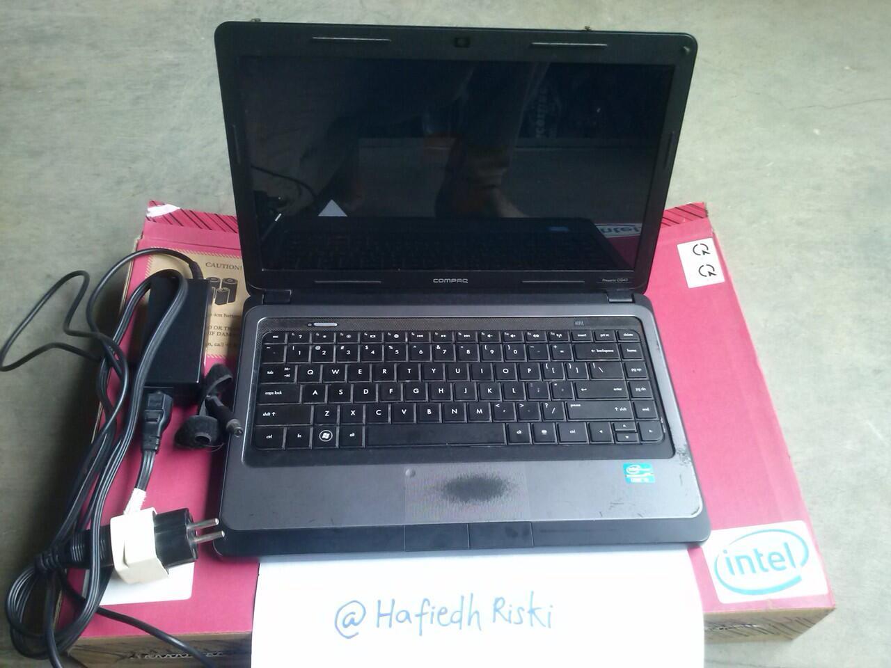 Jual Laptop HP Compaq Presario CQ43