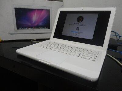 Laptop gamers Apple Macbook White 7.1 Fullset MALANG ( www.lion-laptop.com )