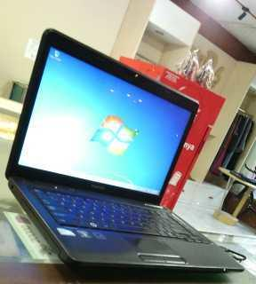 TOSHIBA Satellite C640- intel B950 sandybridge -normal siap kerja