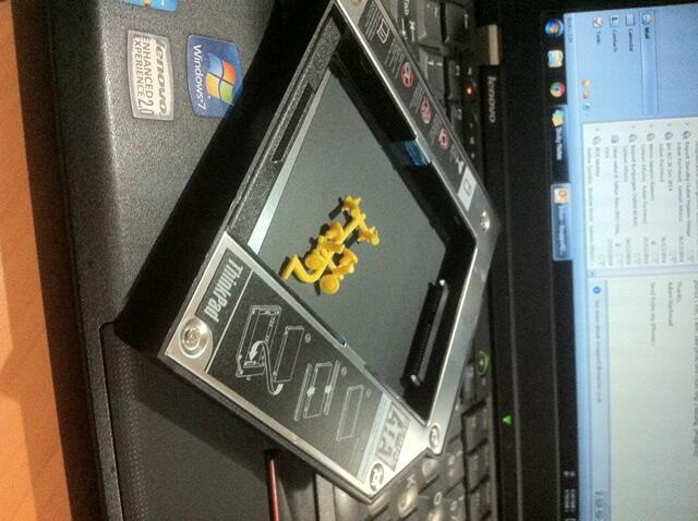 ...:: Jual HDD Caddy/Ultrabay IBM Lenovo ThinkPad Seken ::..