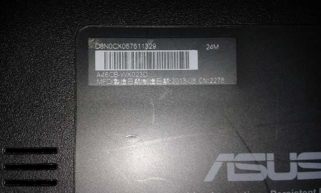 laptop gaming asus like new garansi panjang