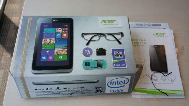 Acer Iconia W4 821 3G (NO KEYBOARD)