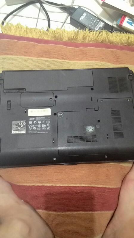 Laptop Acer 4732z Fullset murah mulus normal