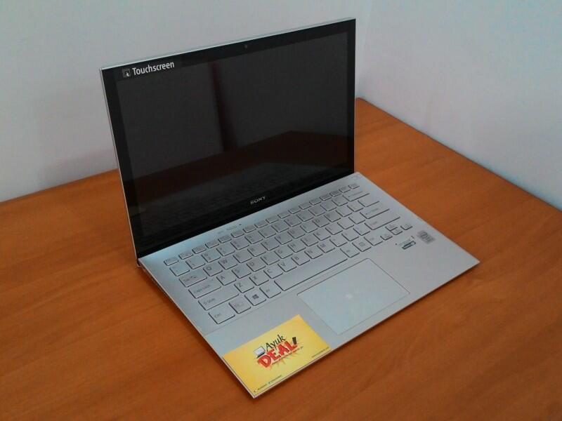 Sony Vaio Pro SVP13213SGS Silver. Cuman 1.06kg! @AyukDeal.com