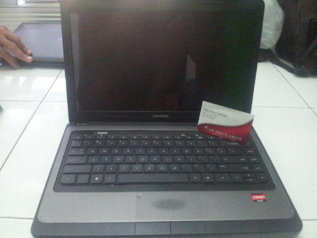 "Jual Laptop HP 435 (14"", AMD E-350, Ram 2Gb, Hdd 320, Batt 3 jam). NEGO"