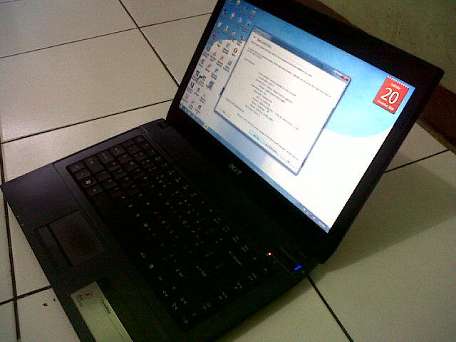 LAPTOP ACER TRAVELMATE 4740 CORE i3-M350 2GB/320GB normal