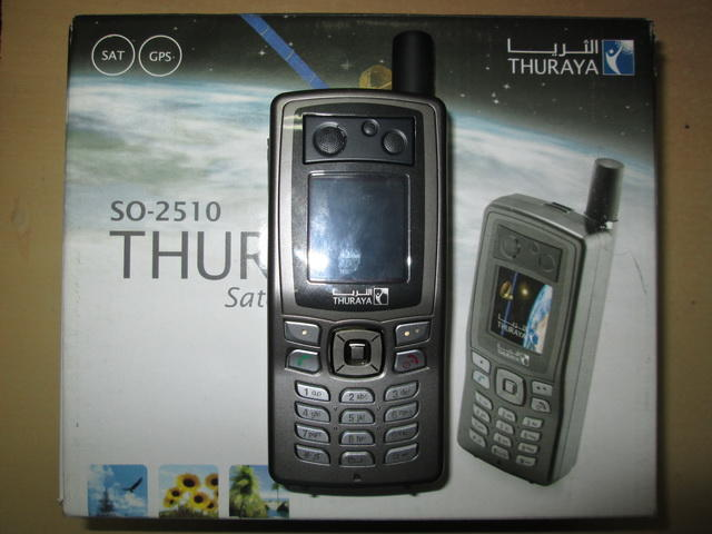 hape satelit, THURAYA SO-2510 seken, mulus, fullset