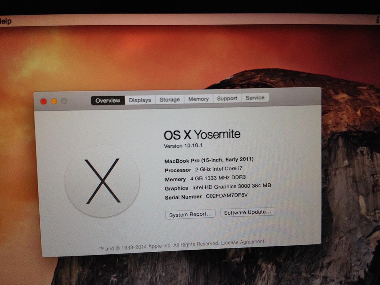 "Macbook Pro 15"" Core i7 Early-2011 MC721 ""mulus bermasalah"""