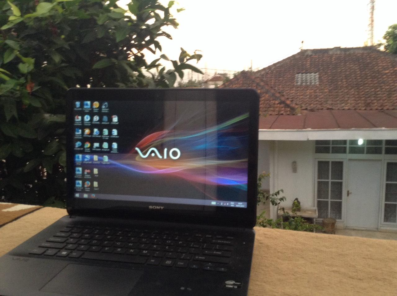 [WTS] SONY VAIO Touchscreen Fit SVF14216SGW, Black [BANDUNG]