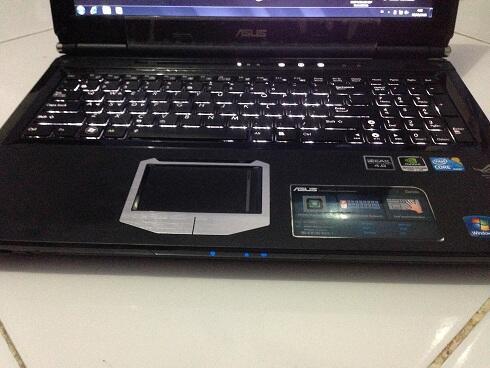 ASUS REPUBLIC OF GAMERS G60JX. core i7-720qm. ram 4gb. hdd 500gb. nvidia GTS 360m 1gb