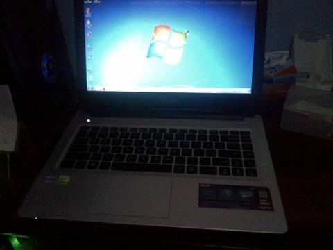 Jual cepat Laptop Gaming Slim Asus A46C core i5.