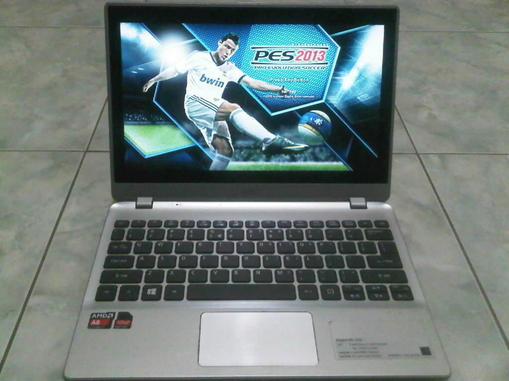 NOTEBOOK SUPER GAMING ACER V5-122 TOUCHSCREEN RAM 6GB VGA 3GB GRATIS ONGKIR PALEMBANG