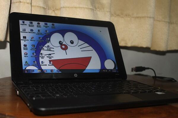 Notebook HP Mini 210 - 1000 ex Cewe Baru 2 Minggu