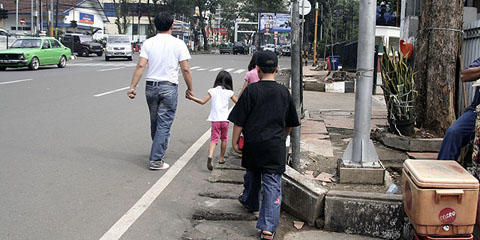 Mungkin, ini Alasan Kenapa Agan Malas Jalan Kaki di Kota-kota