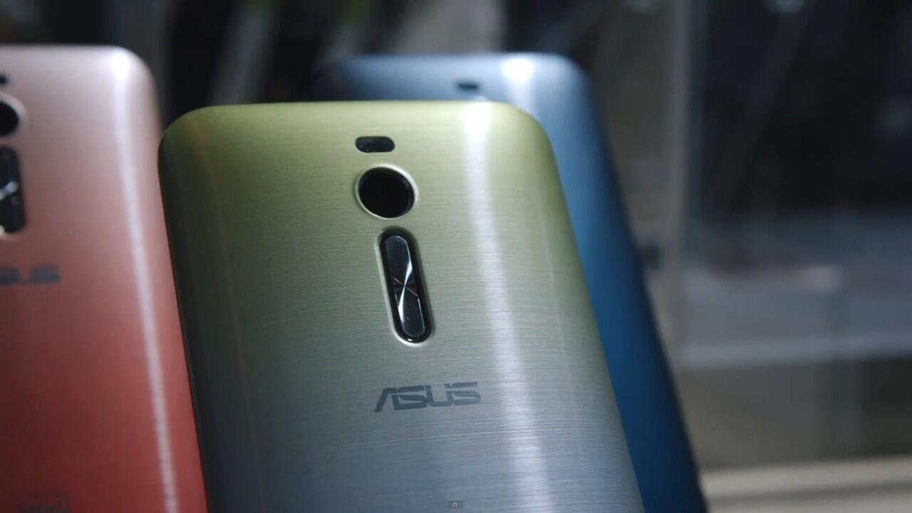 Woww!!! Ini dia smartphone dengan ram 4GB pertama di dunia, Asus Zenfone 2!!
