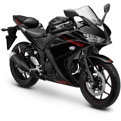 Terjual Yamaha R25 Warna Hitam KM 15