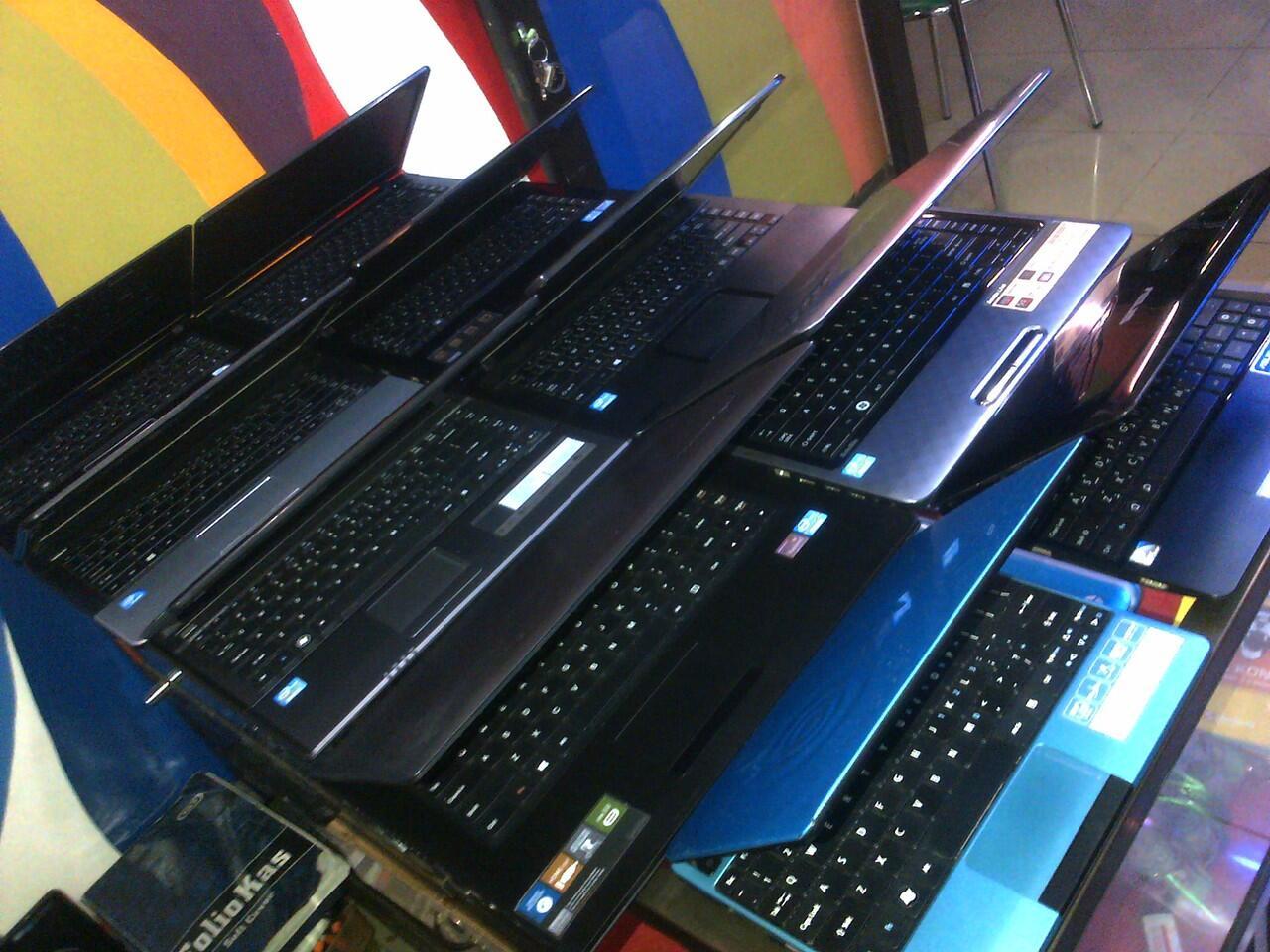 jual laptop dan notebook berbagai tipe mulus dan bergaransi