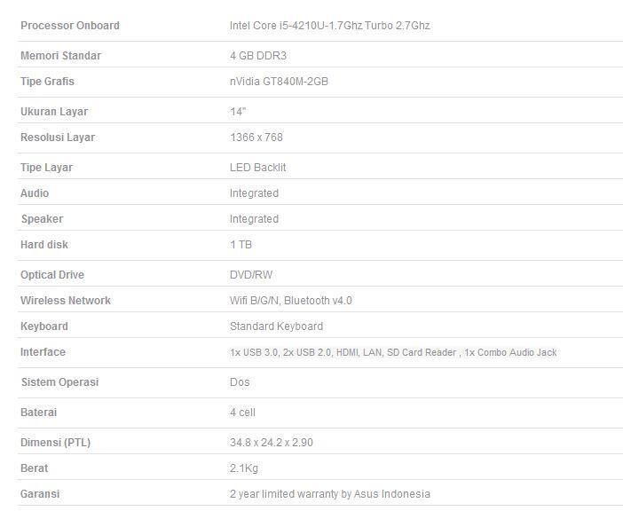 ASUS A455LN-WX004D, Black