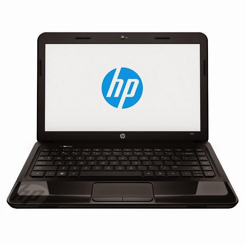 Jual laptop merk hp1000 intel celeron type: 1308TX