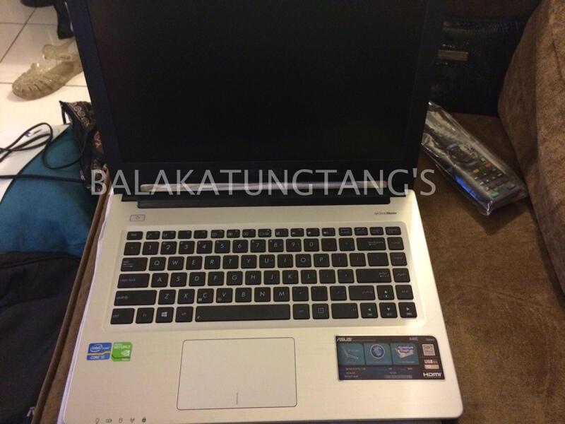 WTS : Laptop Asus A46CB-WX024D Ci5 ram 4gb nvidia second - mulus - masih garansi
